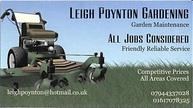 Leigh Poynton Gardening