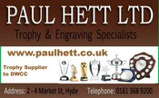 Paul Hett Trophies