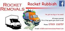 Rocket Removals - League Main Sponsor