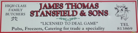 James Stansfield & Sons Butchers